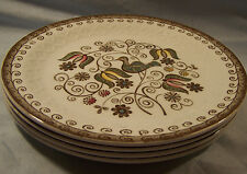 "4 Alfred Meakin Ironstone Taunton Salad Dessert Plates 7"""