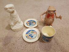 RARE! 1982 E.T. EXTRA TERRESTRIAL toy FIGURE LOT