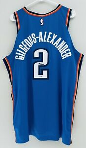 Shai Gilgeous-Alexander Signed Nike Aeroswift NBA Authentic Auto Jersey FANATICS