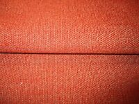 Washington DC Fabric 'Montague' Burnt Orange /& Gold Latin Lettering 18x22 Inches