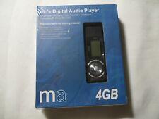 Market America Digital Audio Player MP3 FM Radio Voice Recorder Flash Drive