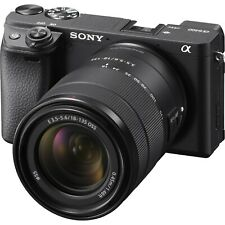 "Sony A6400 18-135mm 24.2mp 3"" Digital Camera New Agsbeagle"