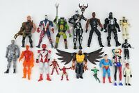 Assorted Mixed Lot of 18 Action Figures Spawn Fortnite TMNT Marvel Legends Blade
