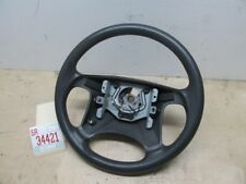 00 2000 VOLVO S40 LEFT DRIVER FRONT STEERING WHEEL GREY FADED OEM FACTORY