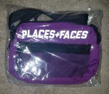 Rare Limited Authentic Places+Faces Purple P+F Reflective Shoulder Bag Deadstock