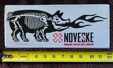 "NOVESKE 12"" PATCH FLAMING PIG BADASS RIFLE COMPANY"