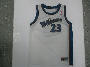 VINTAGE NIKE WASHINGTON WIZARDS MICHAEL JORDAN #23 YOUTH LARGE BASKETBALL JERSEY