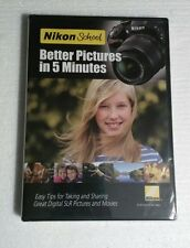 NIKON SCHOOL Better Pictures in 5 Minutes DVD Photography Digital SLR & Movies