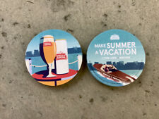 """Stella Artois   Beer Coasters You Receive """"20""""Coasters. Make Summer A Vacation"""