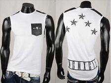 Individualisierte Ärmellose Herren-T-Shirts aus Baumwollmischung