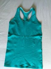 Ivivva Warp To The Future Tank Racerback Green Size 14 Lululemon Sz 4