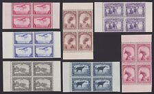 Belgian Congo 1937 Booklet stamps Cob#A5 Blocks of 4 - Unused MNH Luxe.....A5170