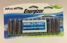 Energizer AA Eco-Advanced Alkaline Batteries - Pack of 12 Batteries Expire 2027