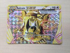 Pokemon TCG Raticate Break XY-Breakpoint 89/122 TCG english!