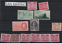 san marino postage due mint never hinged & used  stamps ref r11515