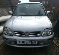 Nissan Micra K11 — For Spares or Repair