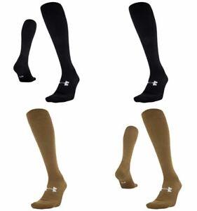 Under Armour U733 Mens UA Tactical HeatGear Over-The-Calf Athletic Socks 1292915
