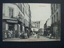CPA  -  ( 75 )  -  PARIS  -  Rue Julien Lacroix au Passage de Gênes  ( XX° )