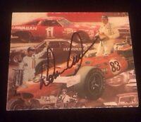 DONNIE ALLISON Autographed Signed AUTO INDEX CARD 3X5 PHOTO NASCAR