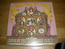 SMITHSONIAN INSTITUTION hutchingson family LP Record - sealed
