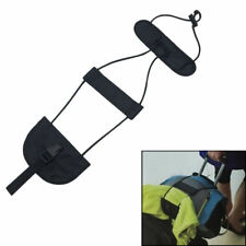 Add A Bag Strap Black Adjust Travel Luggage Suitcase Belt Carry On Bungee Strap