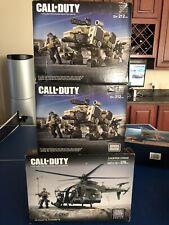 Mega Bloks Call Of Duty Chopper Strike Collector Construction Set NEW SEALED Lot