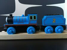 EDWARD Thomas The Tank Engine & Friends Wooden Railway Set Train fit Brio etc