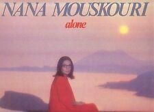 Nana Mouskouri . Alone . 1985 Philips LP