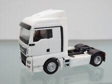 Herpa 308342 - 1:87 - Man Tgx Xlx C unidad TRACTORA,blanco - Nuevo en EMB. orig.