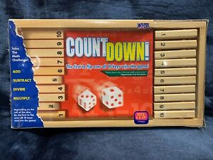 Count Down Learn Fun Numbers Math Easy Family Game Simple Fast Wooden NEW Sealed