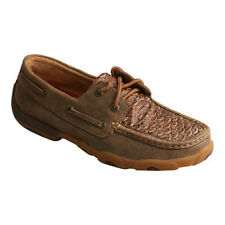 Twisted X Women's   Fish Leather Driving Moc