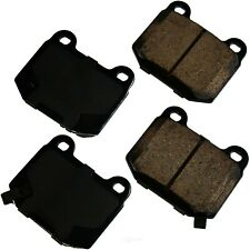 Disc Brake Pad Set-Performance Ultra Premium Ceramic Pads Rear Akebono ASP961
