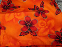 """SET OF 6 BEAUTIFUL FLORAL NAPKINS OUTLINED IN GOLD--11"""" SQUARE--#P38"""