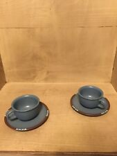 Dansk Mesa SKY BLUE (Made in Japan) Cups & Saucers