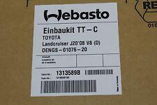 Toyota Landcruiser Diesel Webasto Einbaukit Thermo C 1313589B