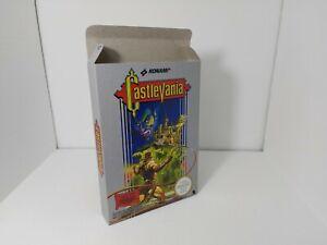 Castlevania - PAL  - Nes - Nintendo  - Only Box