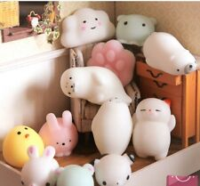 Japanese high quality SQUISHY Mochi stress released soft squeeze vent toy (4pcs)
