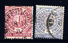 NORTH GERMAN CONFEDERATION - CONFEDERAZIONE TEDESCA DEL NORD - 1869 - Francoboll
