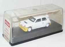 1/43 SIBUR MODELES REDUITS 1005 RALLYE RENAULT MAXI 5 TURBO FASA / ESPAGNE 1987