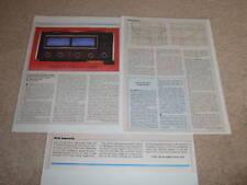 McIntosh MC 2255 Amplifier Review,3 pgs, 1982,Full Test