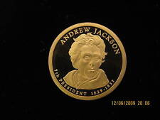 2008-S Gem Proof (Andrew Jackson) Deep Cameo Us Presidential One Dollar