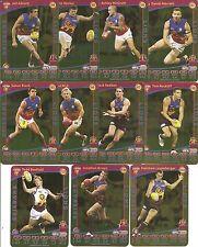2012 TeamCoach Brisbane Gold set 12 cards Team Coach