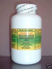 Glucosamine chondroitin  MSM - 200 capsules, Osteoarthritis, pain. Made in USA.