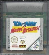 TOM AND JERRY IN MOUSE ATTACKS for Nintendo Game Boy Color GBC