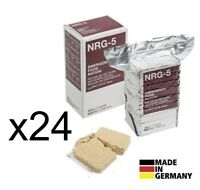 x24 Pack NOTRATION NRG-5 Notverpflegung BW Notnahrung Armee Notreserve Outdoor