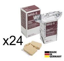 x24 Pack NOTRATION NRG-5 Notverpflegung BW Notnahrung Armee Notreserve Outdoor