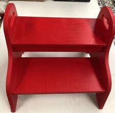 IKEA TROGEN RED  STEP STOOL