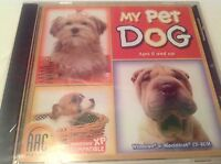 My Pet Dog Ages 6+ CD 2005 for Win/Mac NEW in Jewel Case