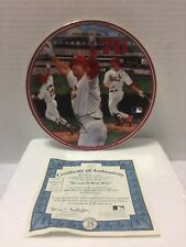 "Mark McGuire ""Record 70 Home Runs"" Bradford Exchange Plate with Coa #48"