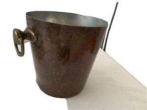 copper ice bucket Williams And Sonoma